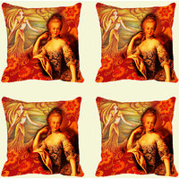 MeSleep Queen Abstract Digitally Printed Cushion Covers