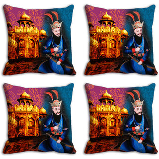 meSleep Monument King Digitally Printed Cushion Covers