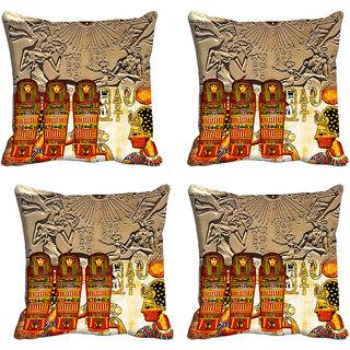 meSleep Stone Age Digitally Printed Cushion Covers