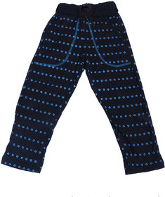 Indiweaves Boys Premium Cotton Black Printed Lowers / Track Pant_2-3 Years_36027-IW-22