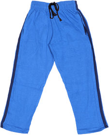 Indiweaves Boys Premium Cotton Royal Blue Printed Lowers / Track Pant_2-3 Years_36028-IW-22