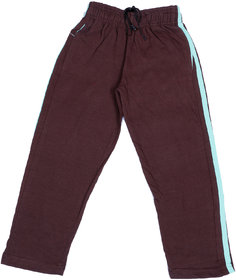 Indiweaves Boys Premium Cotton Brown Printed Lowers / Track Pant_2-3 Years_36030-IW-22