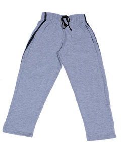 Indiweaves Boys Premium Cotton Gray Printed Lowers / Track Pant_2-3 Years_36031-IW-22
