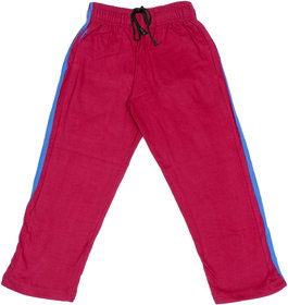 Indiweaves Boys Premium Cotton Magenta Printed Lowers / Track Pant_2-3 Years_36033-IW-22
