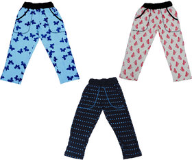Indiweaves Boys Premium Cotton Printed Lowers / Track Pant(Pack of 3)_Multicolor_2-3 Years_360222427-IW-P3-22