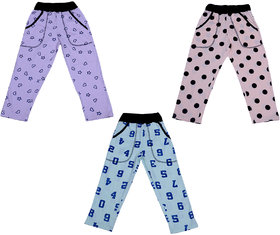 Indiweaves Boys Premium Cotton Printed Lowers / Track Pant(Pack of 3)_Multicolor_2-3 Years_360232526-IW-P3-22
