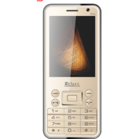 Relaxx R7s (Gold) Dual Camera And Dual SIM Mobile Phone