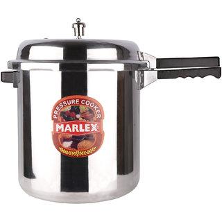 Marlex Aluminium Outer Lid Regular Premium 16 L Pressure Cooker (Aluminium)
