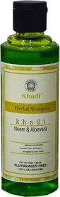 Khadi Neem  AloeveraShampoo- SLS  Paraben Free Pack Of 1