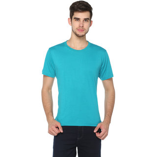 Harbor N Bay Men's Regular Fit Solid Round neck T-Shirt
