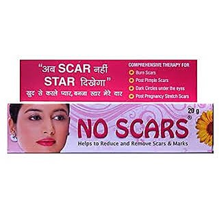 No Scars Cream For Reduce and Remove Scars And Marks 20 gm Set of 2 pc