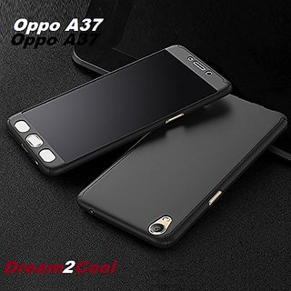 Oppo A37 -360 Degree Ipaky-Full Body Protection (Front+ Back + Temper Glass