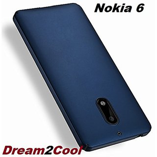 low priced c5ceb 930c3 Nokia 6 - 360 Degree Ipaky-Full Body Protection (Front+ Back + Temper  Glass) Case Cover ,Blue