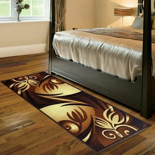 Luxmi Attractive Design Bed side Runner - Multicolor