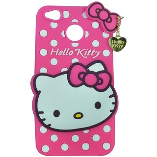 buy popular f8c70 d0489 Style Imagine Hello Kitty 3D Designer Back Cover For Redmi 4 - Pink