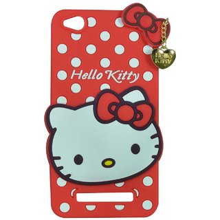 pretty nice 7597d 2de65 Style Imagine Hello Kitty 3D Designer Back Cover For Redmi 4A - Red