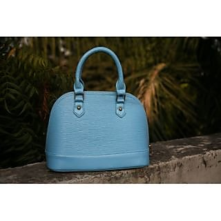 Blue Dome Satchel