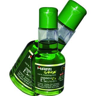 Cool Therapy Hari Gange for Mooch  Beard Growth Green Oil
