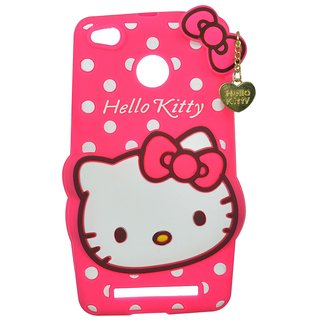 the best attitude 1306a ad1ef Cantra 3D Hello Kitty Back Cover For Redmi 3s Prime - Pink