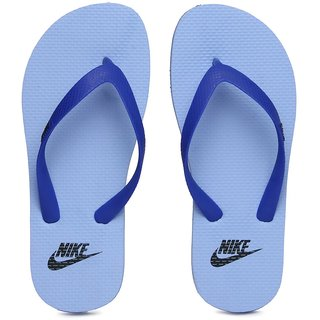 8ac458debc81 Buy Nike Unisex Aquaswift Thong Blue Flip Flops Online   ₹999 from ...