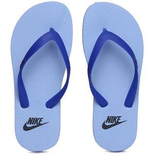 89cd8e9c77c1 Buy Nike Unisex Aquaswift Thong Blue Flip Flops Online   ₹999 from ...