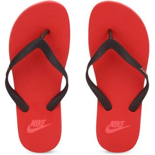 23277ab276bb2 Buy Nike Aquaswift Thong Red Flip Flops Online - Get 70% Off