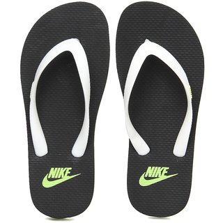 2b29a190abfb Buy Nike Aquaswift Thong Black White Flip Flops Online - Get 70% Off
