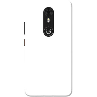 new arrival ac331 87564 Buy Gionee A1 Case, Plain White Slim Fit Hard Case Cover/Back Cover ...