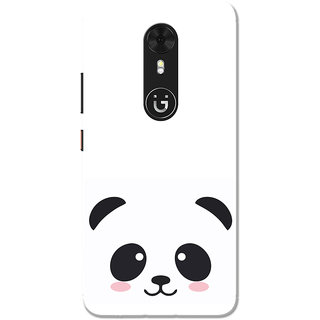 info for ebccd 3cd77 Buy Gionee A1 Case, Black Cute Panda White Slim Fit Hard Case Cover ...