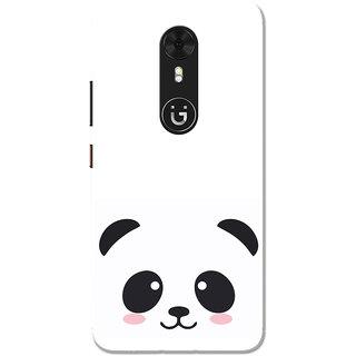 info for 78867 6ac6c Buy Gionee A1 Case, Black Cute Panda White Slim Fit Hard Case Cover ...
