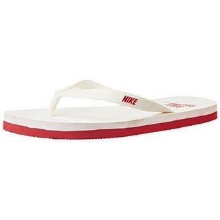 b5d0bed2d5ae Buy Nike Unisex Aquaswift Thong White Red Flip-Flops Online   ₹999 ...