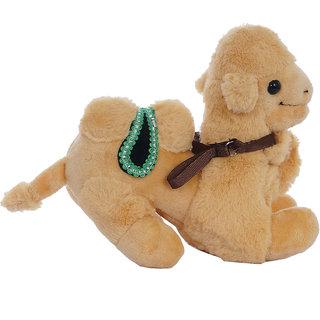 Aarushi Stuffed Soft Camel figure Animal Toy for Kids Beige