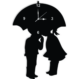 BALAJII TIMES COUPLE BELOW ON UMBRELLA CLOCK072
