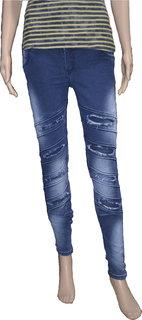 Slim Women's Blue Jeans