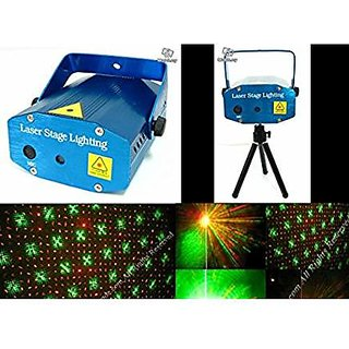 mini laser projector stage lighting sound activated laser light for party and dj
