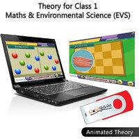 Globalshiksha CBSE 1 Maths & EVS (Online Course)