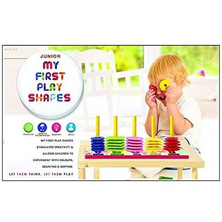 Ratna's Toyztrend Educational My First Play Shapes Junior Allows Kids To Identify Shapes, Colours  Counting For Ages 2+