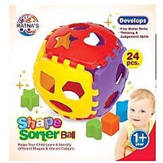 RatnaS Shape Sorter Ball