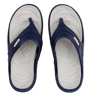 Nexa Accupunch Navy Grey Slippers