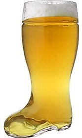 Barraid 1 Litre Beer Boot Glass
