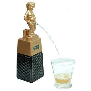 Barraid Bonny Boy Liquor Dispenser Square Golden
