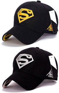 Superman Baseball  Sports Cap by Treemoda (Pack of 2)