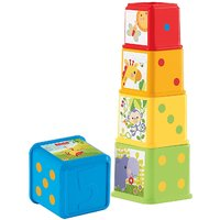 Fisher Price Stack and Explore Blocks, Multi Color