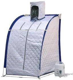 ASP Healthcare Portable Sauna Steam Bath With Headgear And Remote Control N 3 Temperature Control Levels