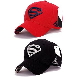 2eeef8636d2 Buy Superman Baseball Sports Cap by Treemoda (Pack of 2) Online - Get 38%  Off