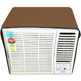 Lithara beige waterproof and dustproof window ac cover for Whirlpool 1.5 Ton 5 star AC Magicool Copr