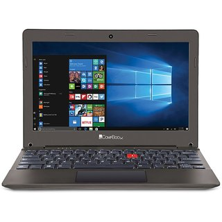 iBall CompBook Excelance-OHD (Intel Atom Processor Z3735F/2 GB/32 GB/29.46cm (11.6 )/Win 10) (Chocolate Brown)