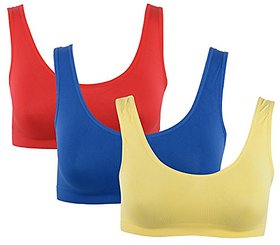 Combo Pack of 3 Ladies Air Bra Slim Lift Look
