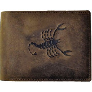 Tamanna Men Tan Genuine Leather Wallet