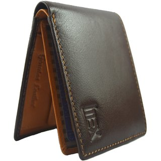 iMex Mens Classy Genuine Leather Wallet